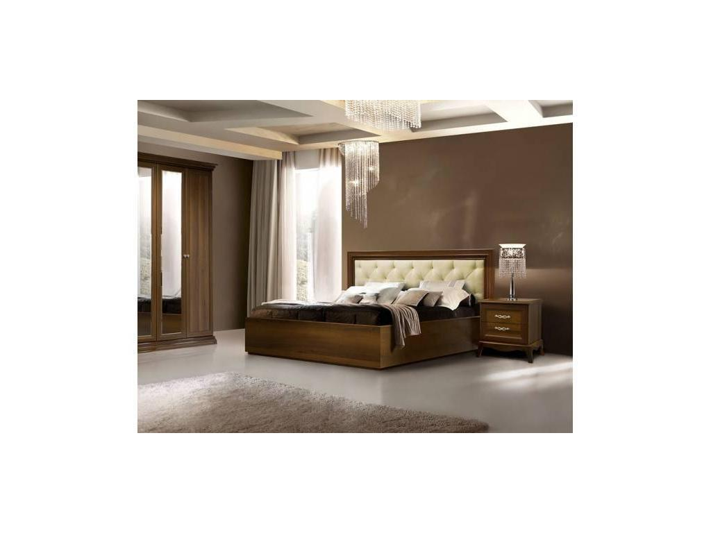 ЯМ: Амели: кровать 160х200 с мягким элементом и с п/м  (ноче)