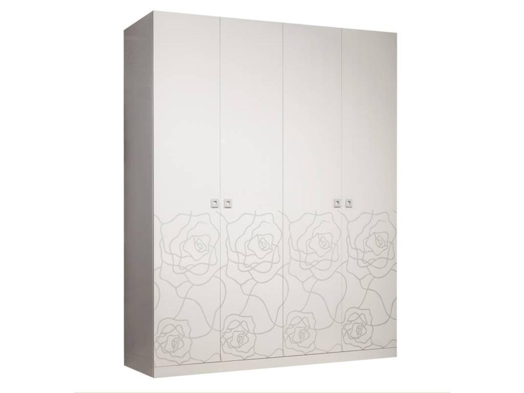 Роза шкаф 4-х дверный
