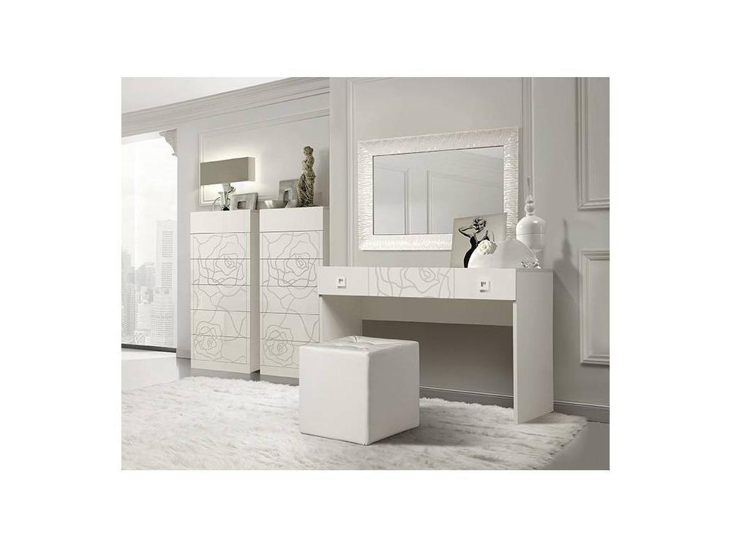 ЯМ: Роза: стол туалетный  (слоновая кость)