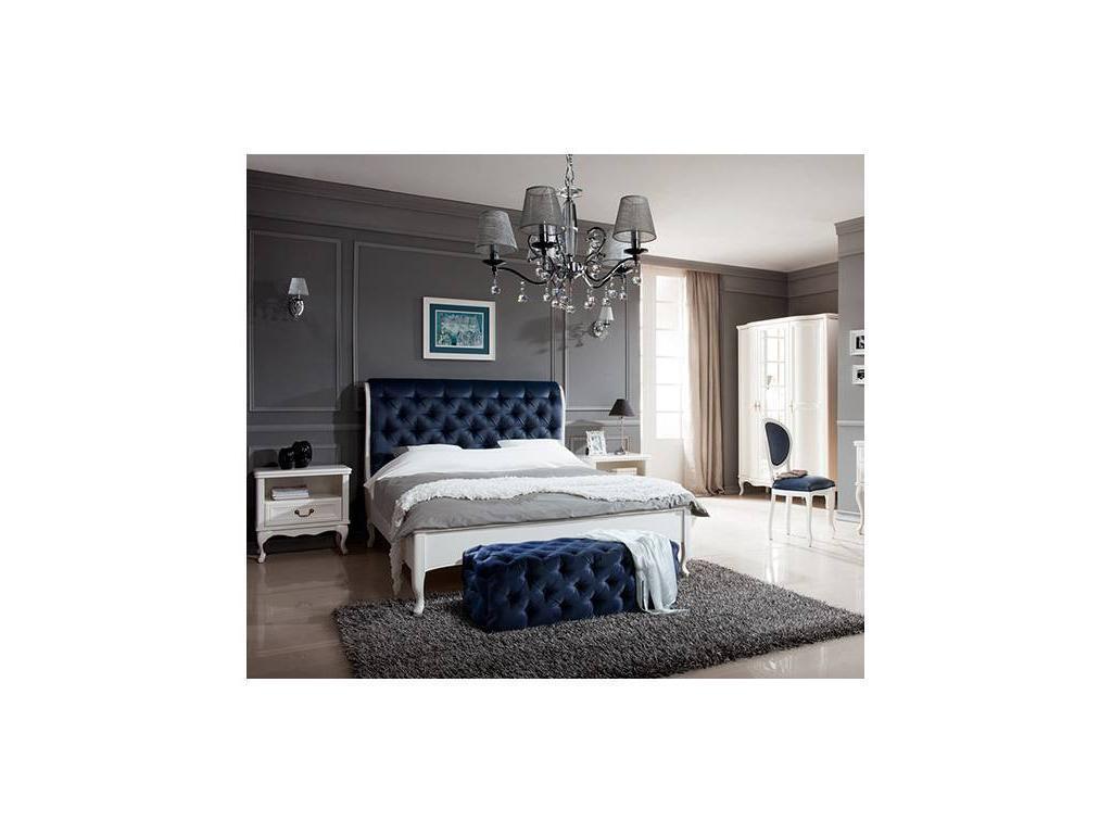 Taranko: Wersal: кровать 160х200  (белый)