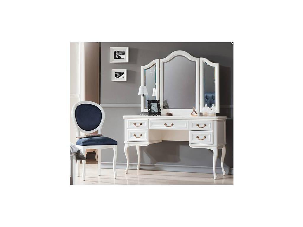 Taranko: Wersal: зеркало для туалетного стола  (белый)