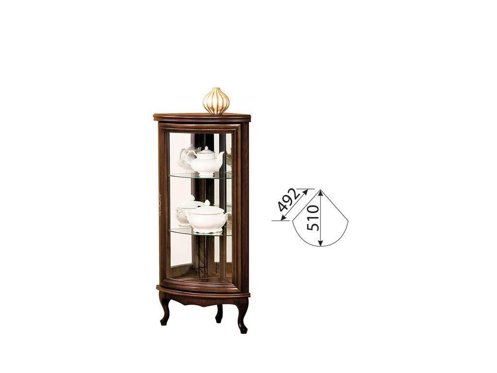Taranko: Wersal: витрина угловая  малая (venge)