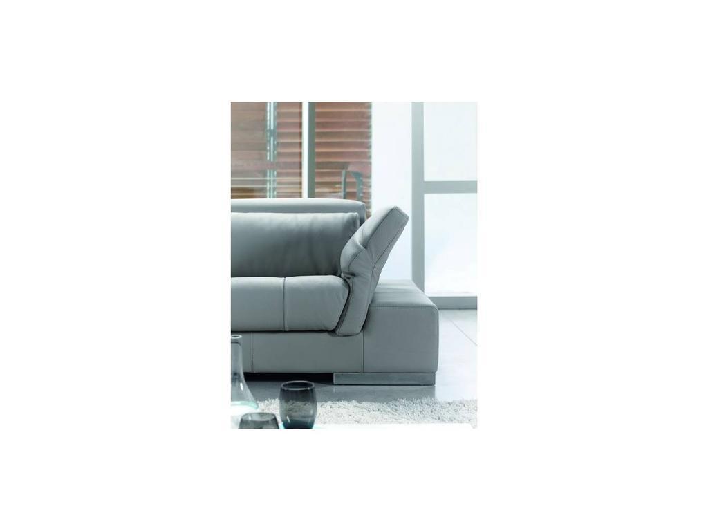 Pedro Ortiz: Charlotte: диван 3-х местный (grey)