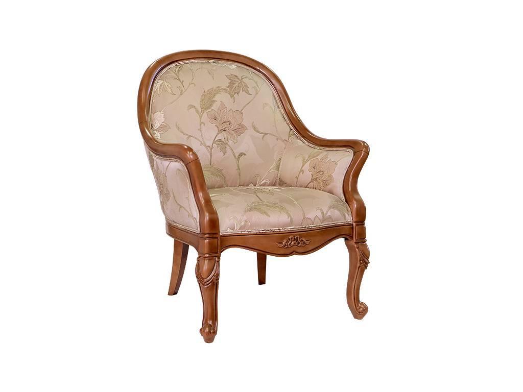 Carpenter: 230: кресло  ткань JY5680-3 (орех)