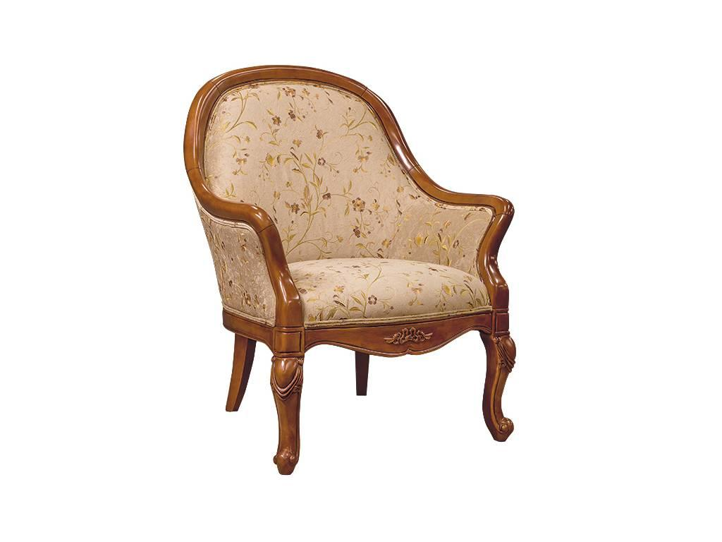 Carpenter: 230: кресло  ткань ST9-4 (орех)