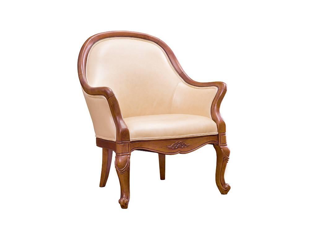 Carpenter: 230: кресло  кожа A008 (орех)
