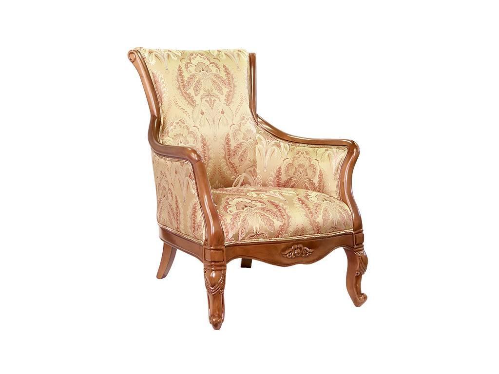 Carpenter: 230: кресло  В ткань NJ182-4 (орех)