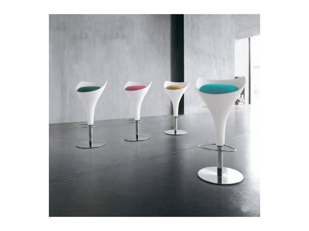 Tonin: Calice: стул барный  (ткань)