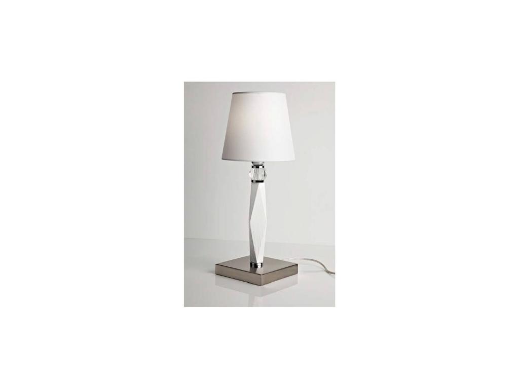 DARTE: Oliver: лампа настольная  (rovere bianco)