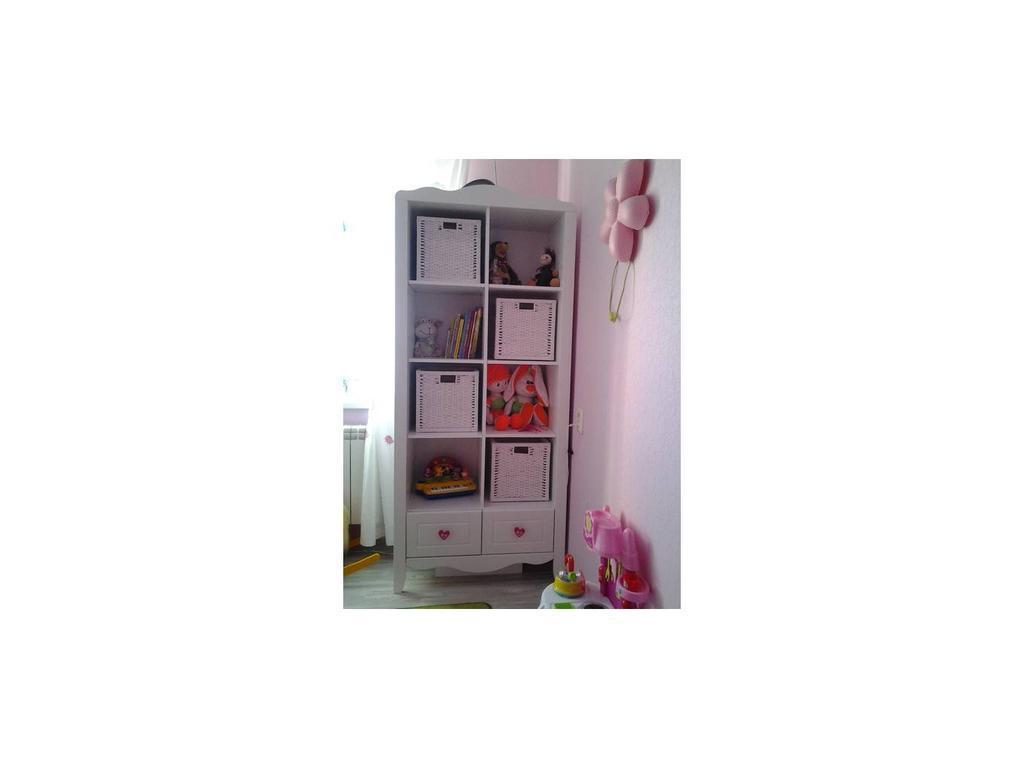Tomyniki: Grace: шкаф книжный  (белый)