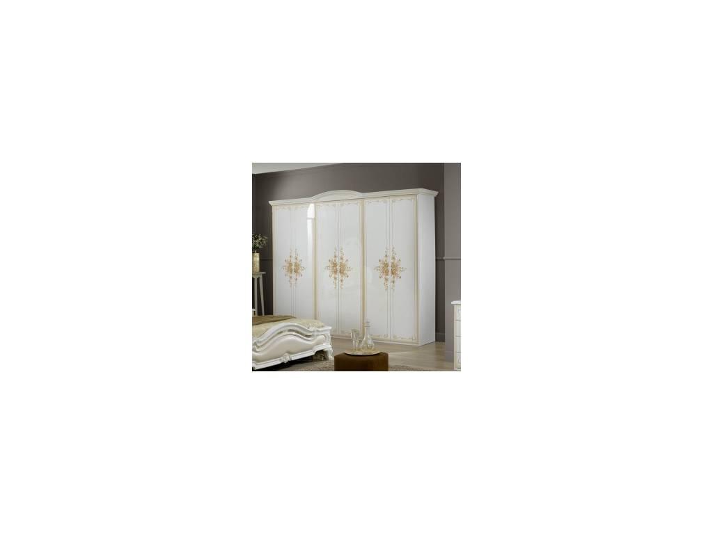 FPM: Rosabianca: шкаф 4-х дверный (белый)