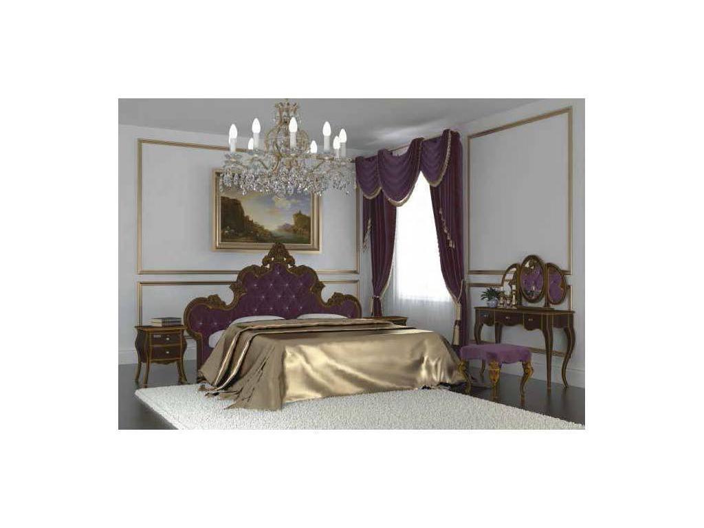 Флоренция: Дольче Вита: кровать с подъемным механизмом 180х200 (белый, золото)