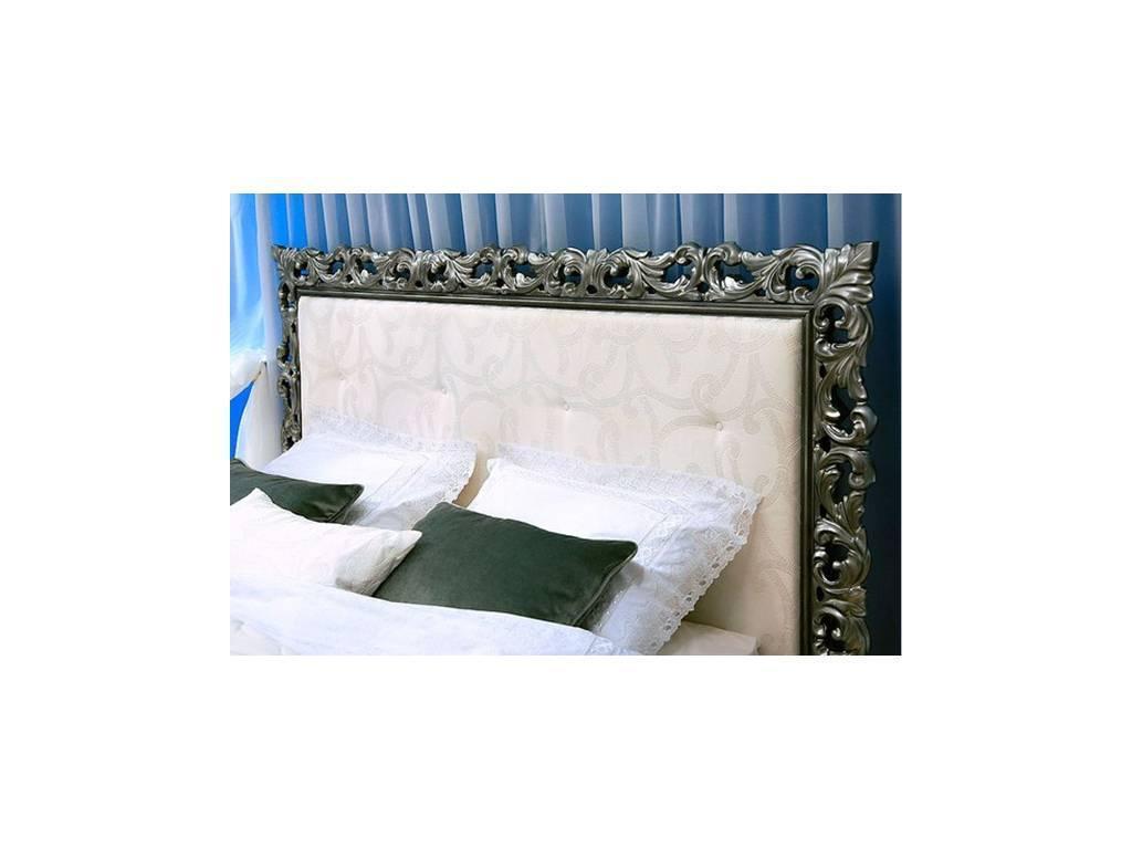Флоренция: Летиция: кровать с подъемным механизмом 180х200 с п/м (белый, золото)