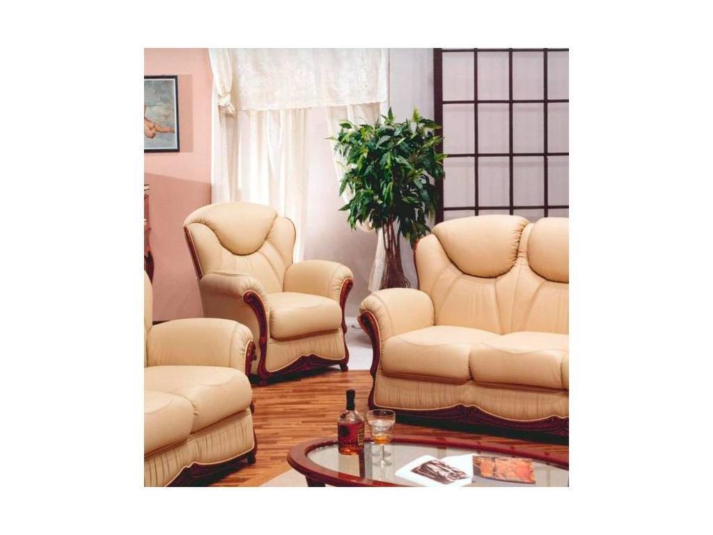 Nieri: Anna: кресло (кожа)