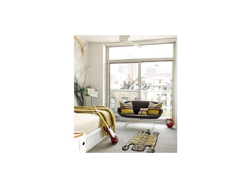Dhome: Swan Sofa: диван 2-х местный  (ткань)
