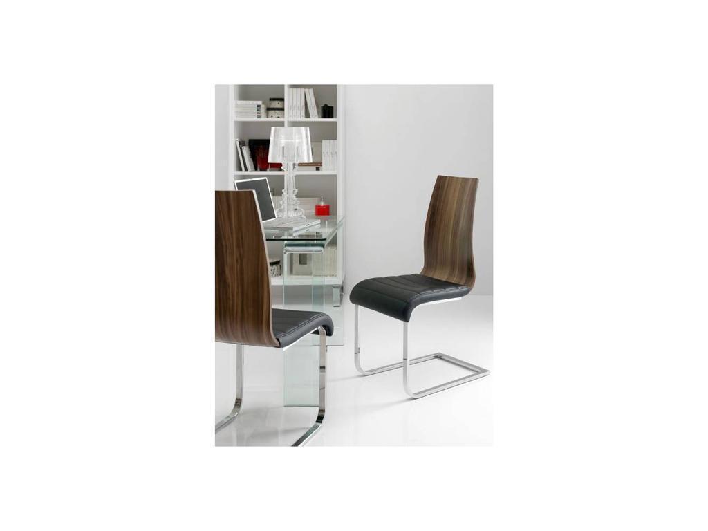 СФ: стул  (орех, хром)