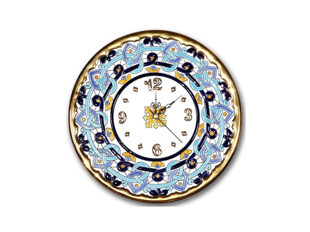 Artecer: тарелка-часы  диаметр 23см