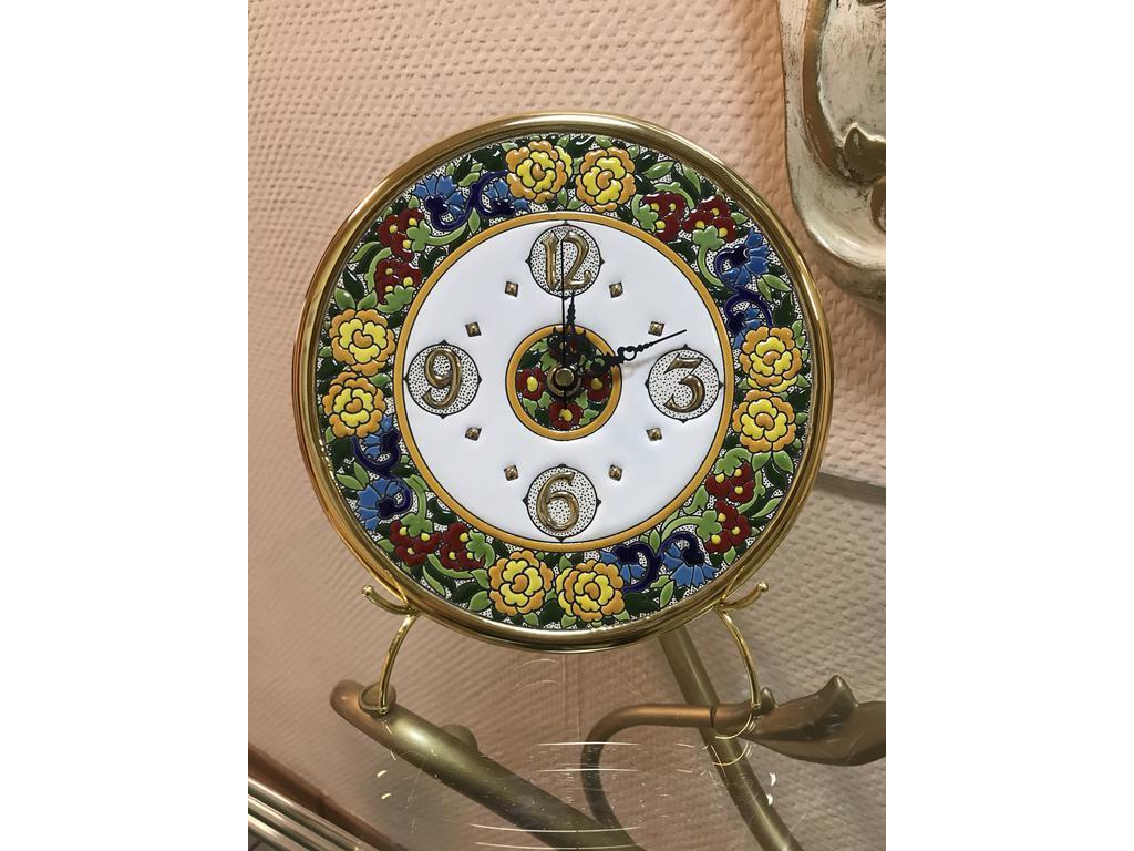 Artecer: тарелка-часы  диаметр 21см