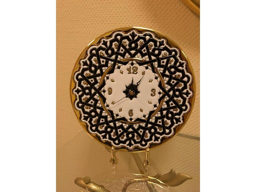 Artecer: тарелка-часы  диаметр 28см