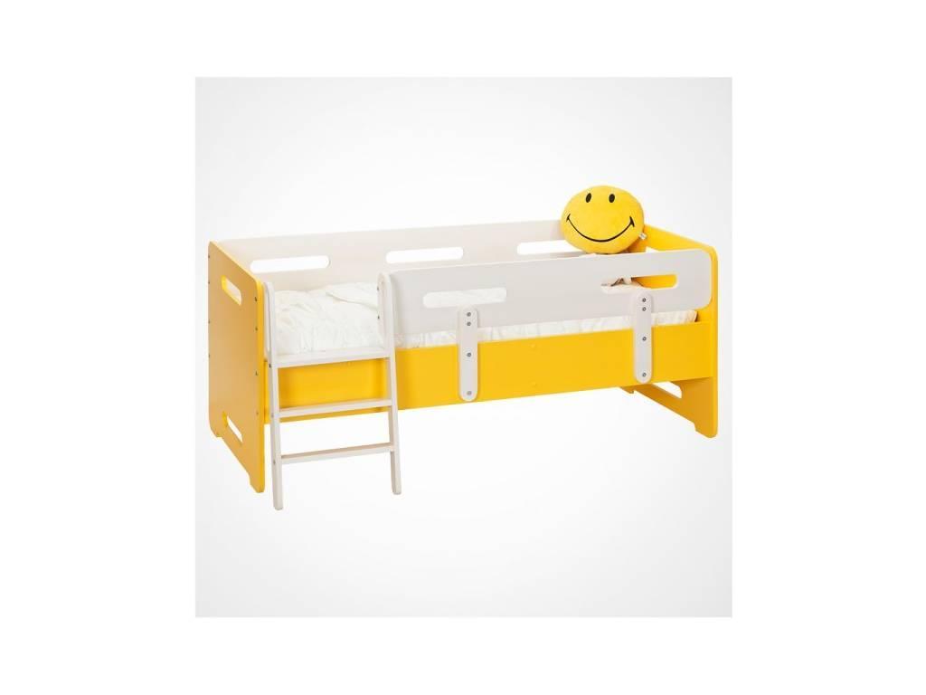Лесные Мануфактуры: Точка-Тире: кровать детская 70х160  (желтый)