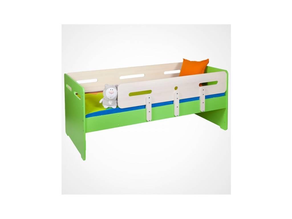 Лесные Мануфактуры: Точка-Тире: кровать детская 90х190  (зеленый)