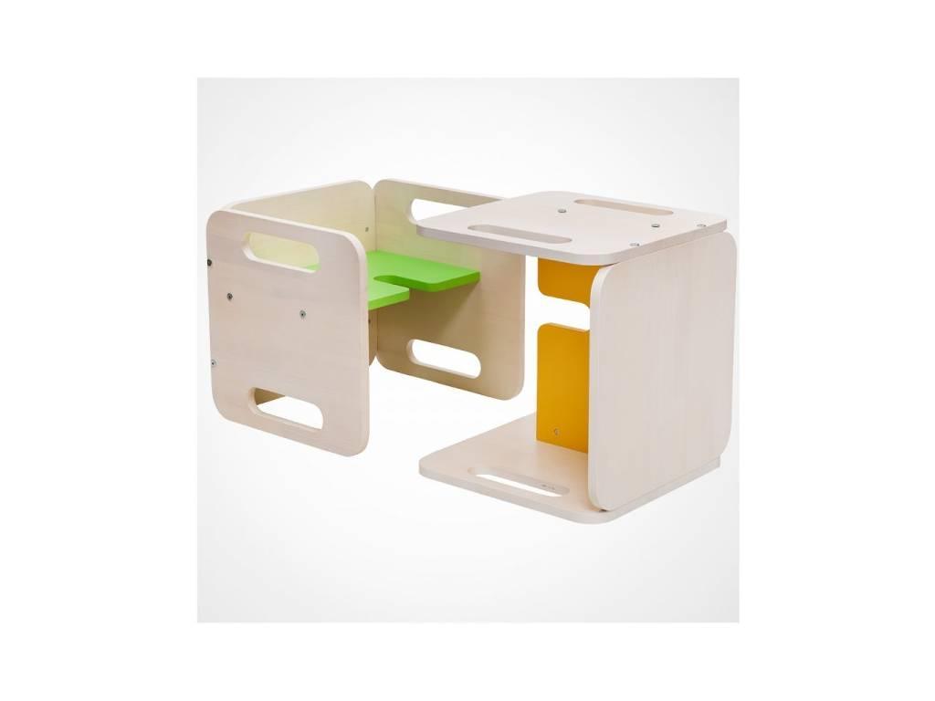 Лесные Мануфактуры: Точка-Тире: стул детский  (зеленый)