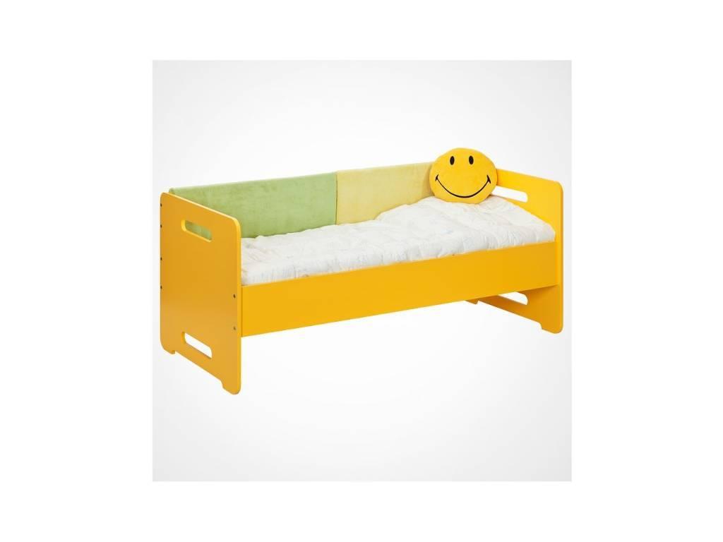 Лесные Мануфактуры: Точка-Тире: подушка  на спинку кровати (желтый)