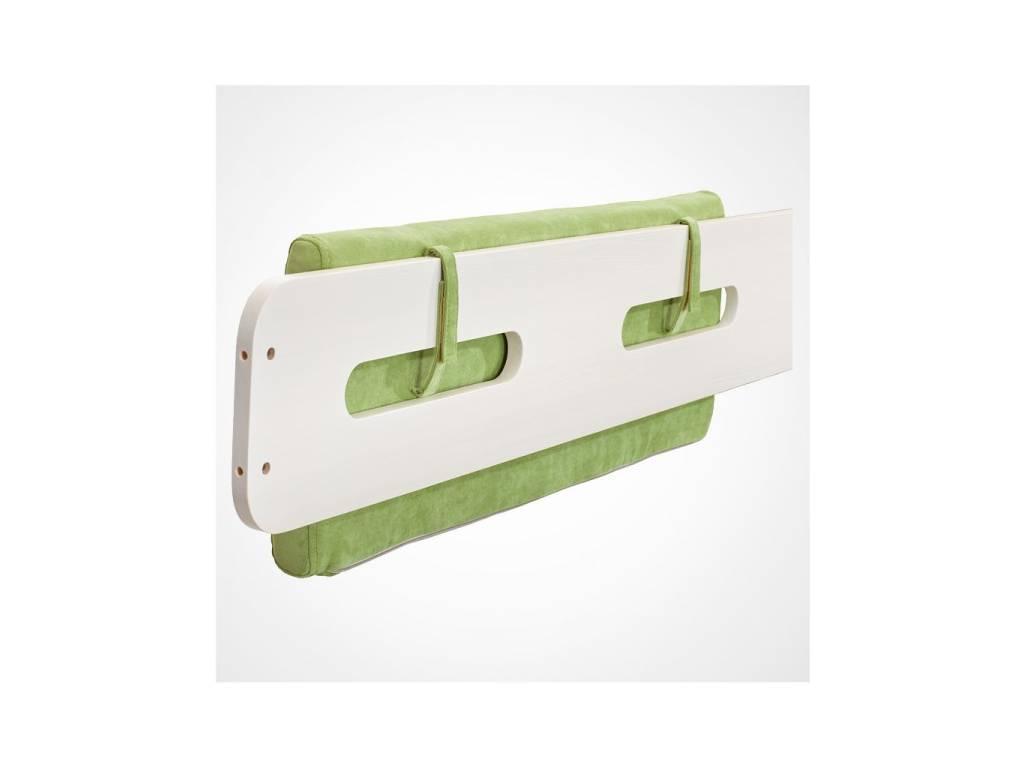 Лесные Мануфактуры: Точка-Тире: подушка  на спинку кровати (зеленый)