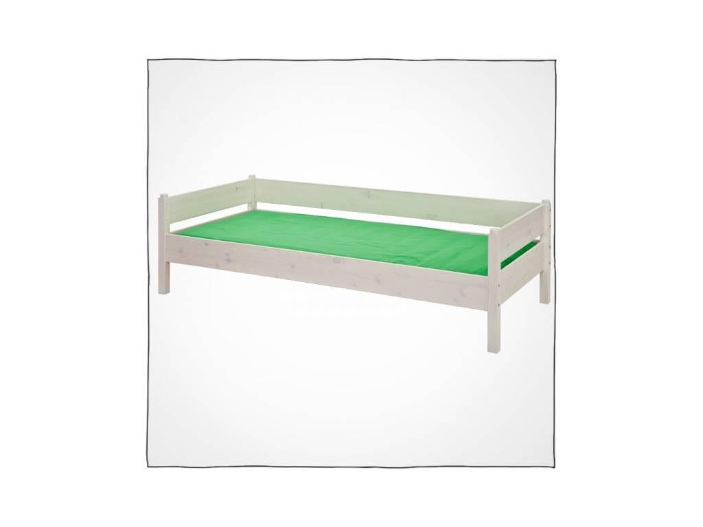 Лесные Мануфактуры: Каспер: кровать  90х190 (белый  полупрозрачный)