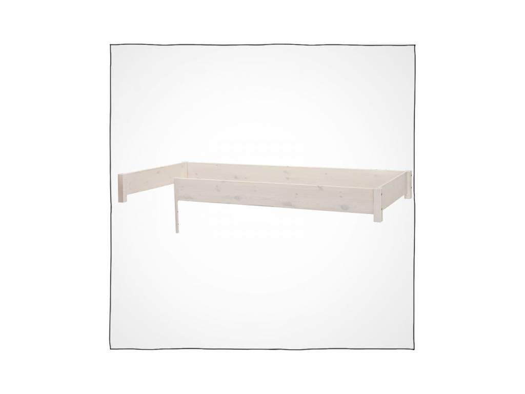 Лесные Мануфактуры: Каспер: бортик ограничительный на кровать 22 (белый  полупрозрачный)