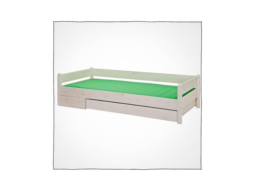 Лесные Мануфактуры: Каспер: ящик подкатной 150 с фальшпанелью (белый  полупрозрачный)