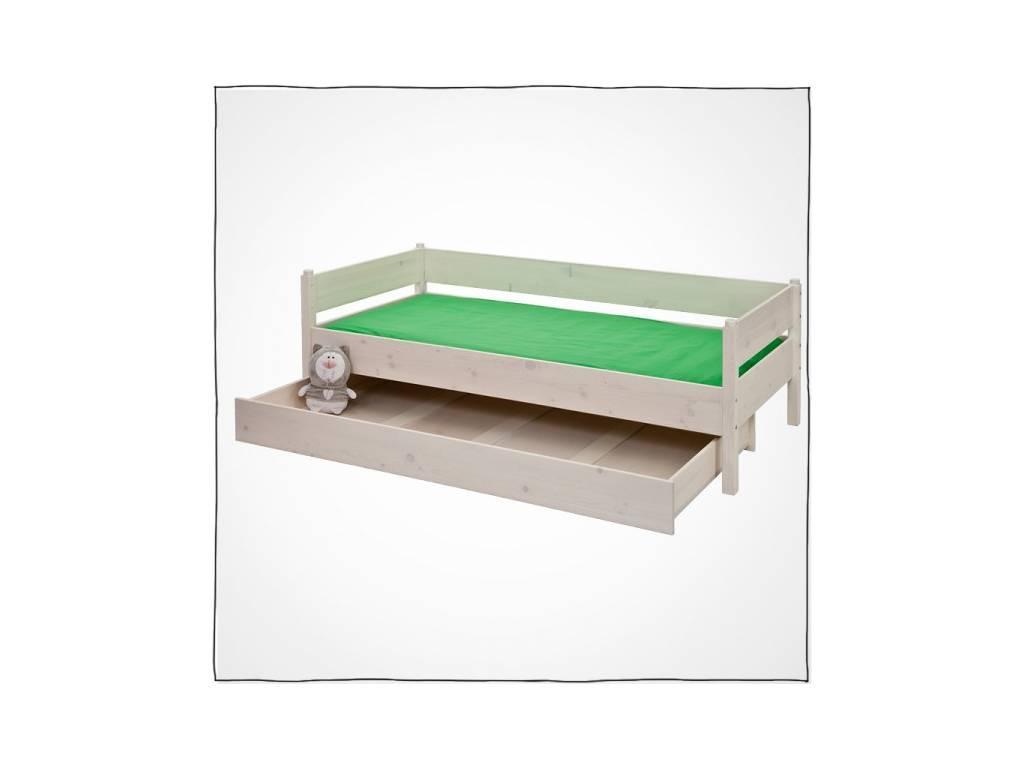 Лесные Мануфактуры: Каспер: ящик  подкатной 190 (белый  полупрозрачный)