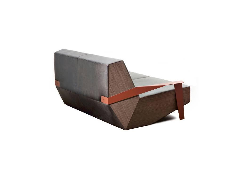 Zignatur Buro: Boot: диван 3-х местный (кожа Stella Clean)