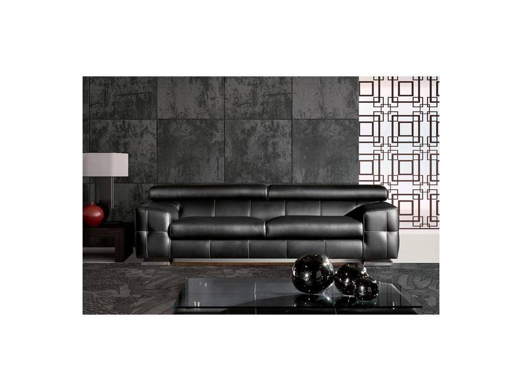 Zignatur Buro: Rover: диван 3-х местный (кожа)