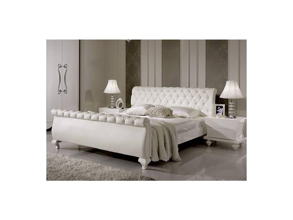Hemis: кровать двуспальная  160х200 (белый)