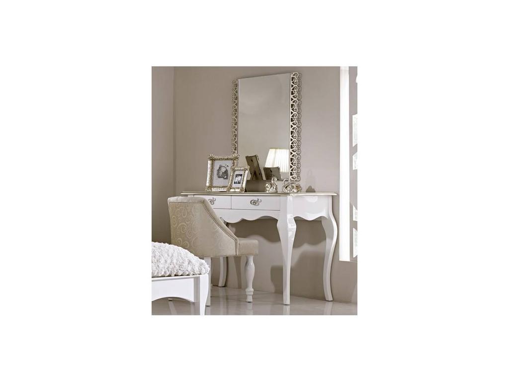 Hemis: стол туалетный  (белый, золото)