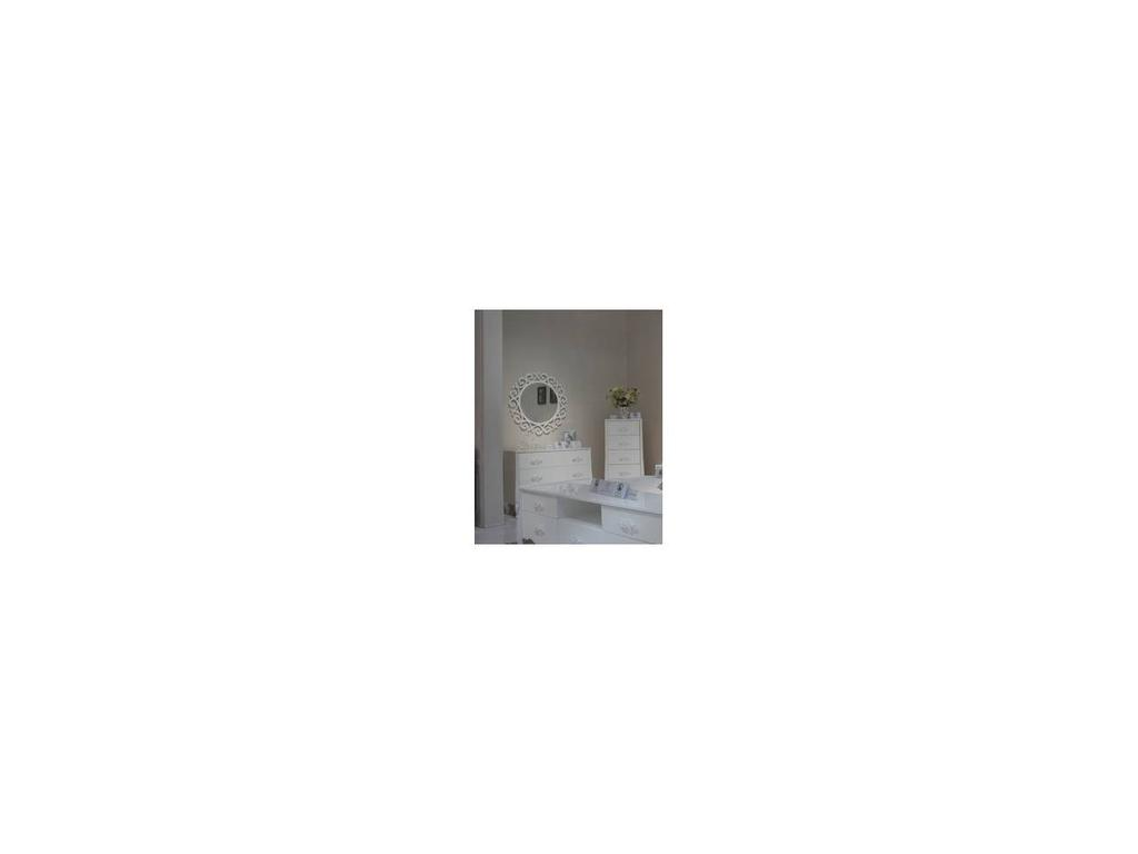 Hemis: зеркало настенное  (белый)