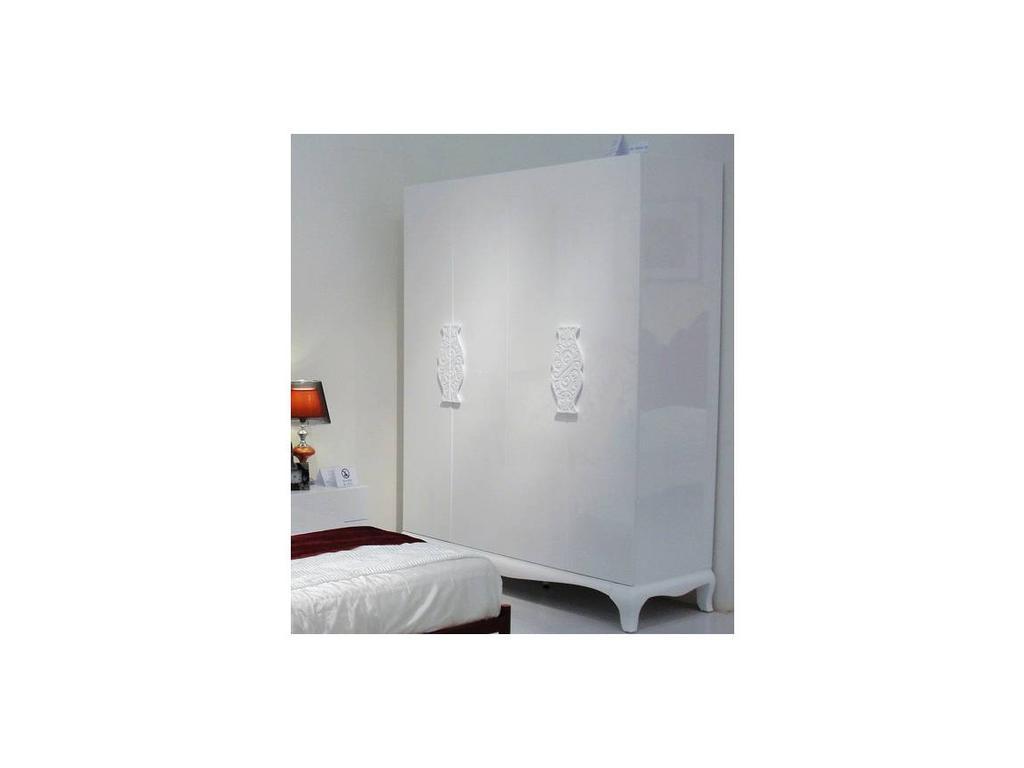 Hemis: шкаф 4-х дверный  (белый)