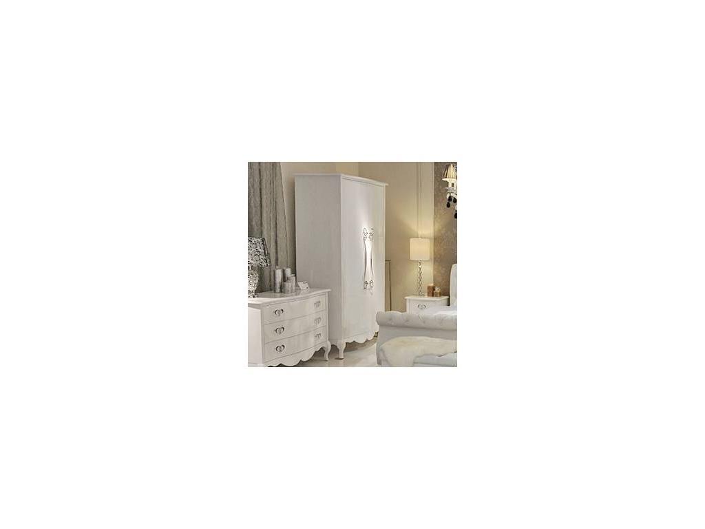 Hemis: шкаф 2-х дверный  (белый)