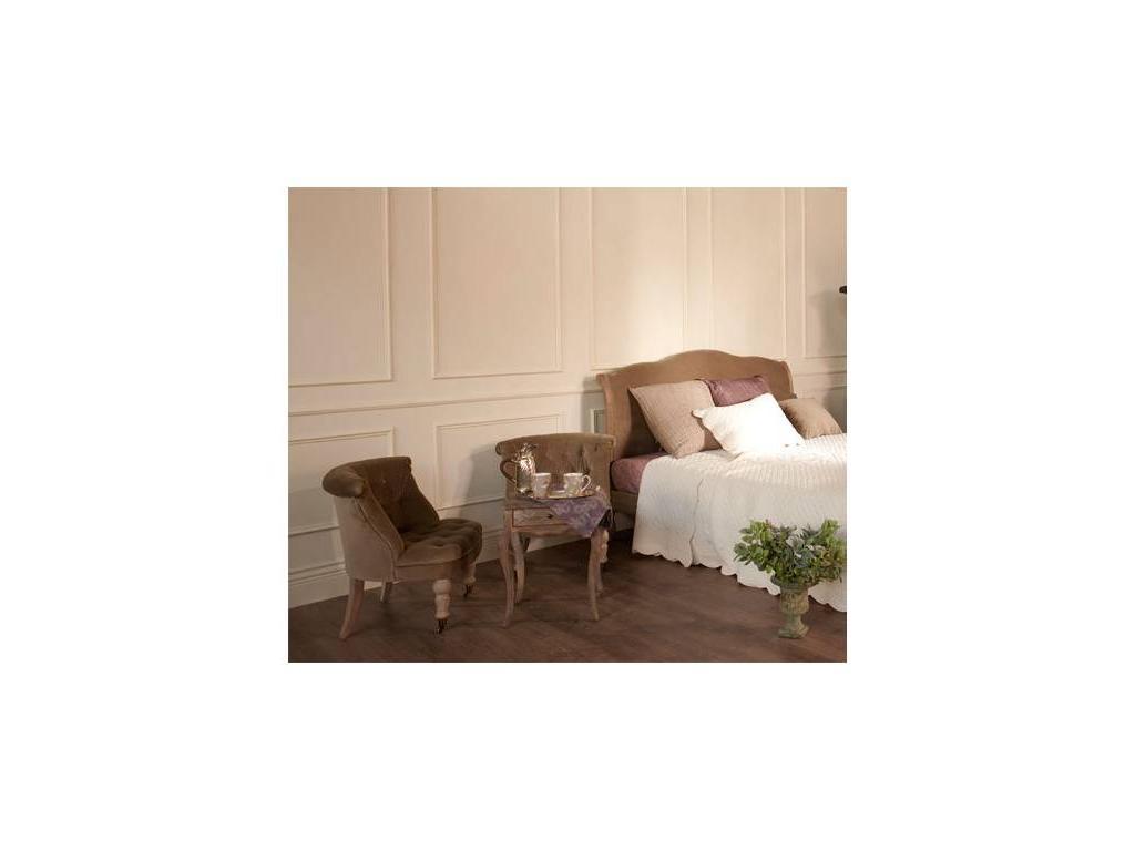 Astra: La Truffe: кресло   Жозефина  (оливковый бархат, брашированный дуб)