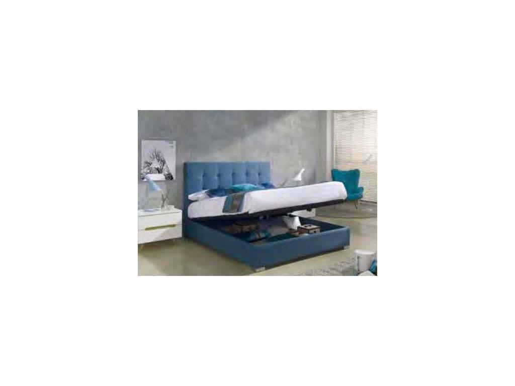 Dupen: Belen: кровать двуспальная  160х200 с поъемным мех-м (ткань)