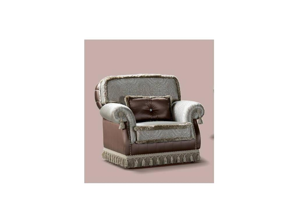 GiorgioCasa: Giulietta e Romeo: кресло Art. S101 ткань Cat. Е
