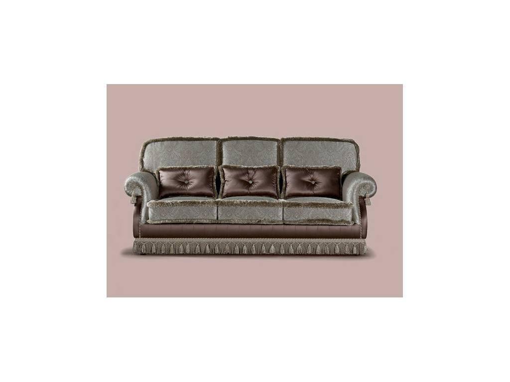 GiorgioCasa: Giulietta e Romeo: диван 3 местный Art. S100 ткань Cat. Е