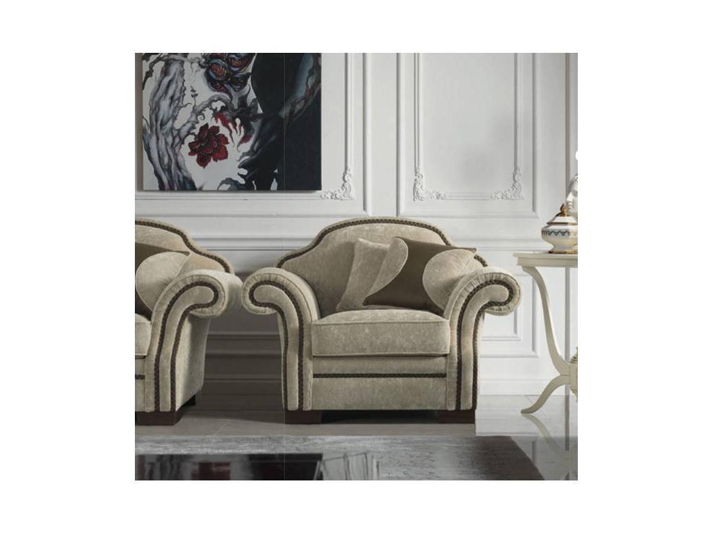 GiorgioCasa: Giulietta e Romeo: кресло Art. S371 ткань Cat. A