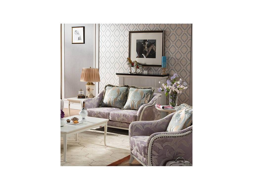 Carpenter: 309: диван 2-х местный  В (слоновая кость, ткань)