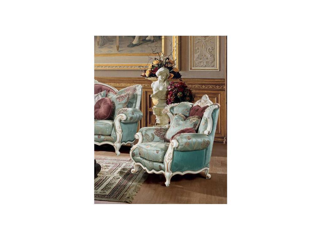 Fanbel: Лино: кресло  (белый, ткань)