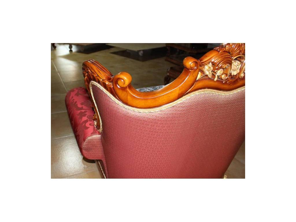 Fanbel: Аполло: кресло  (орех, ткань)
