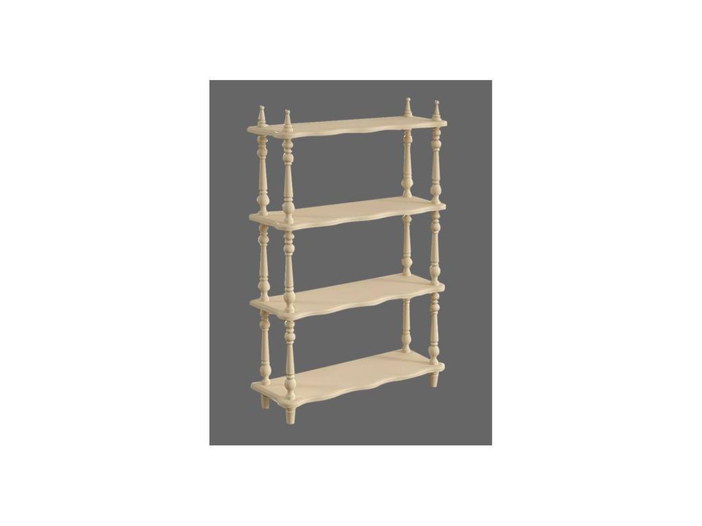De Luxe: Любимая сказка: этажерка для книг (слоновая кость, без росписи)