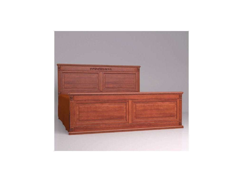 Arco Decor: кровать 200х200 (орех, коричневая патина)