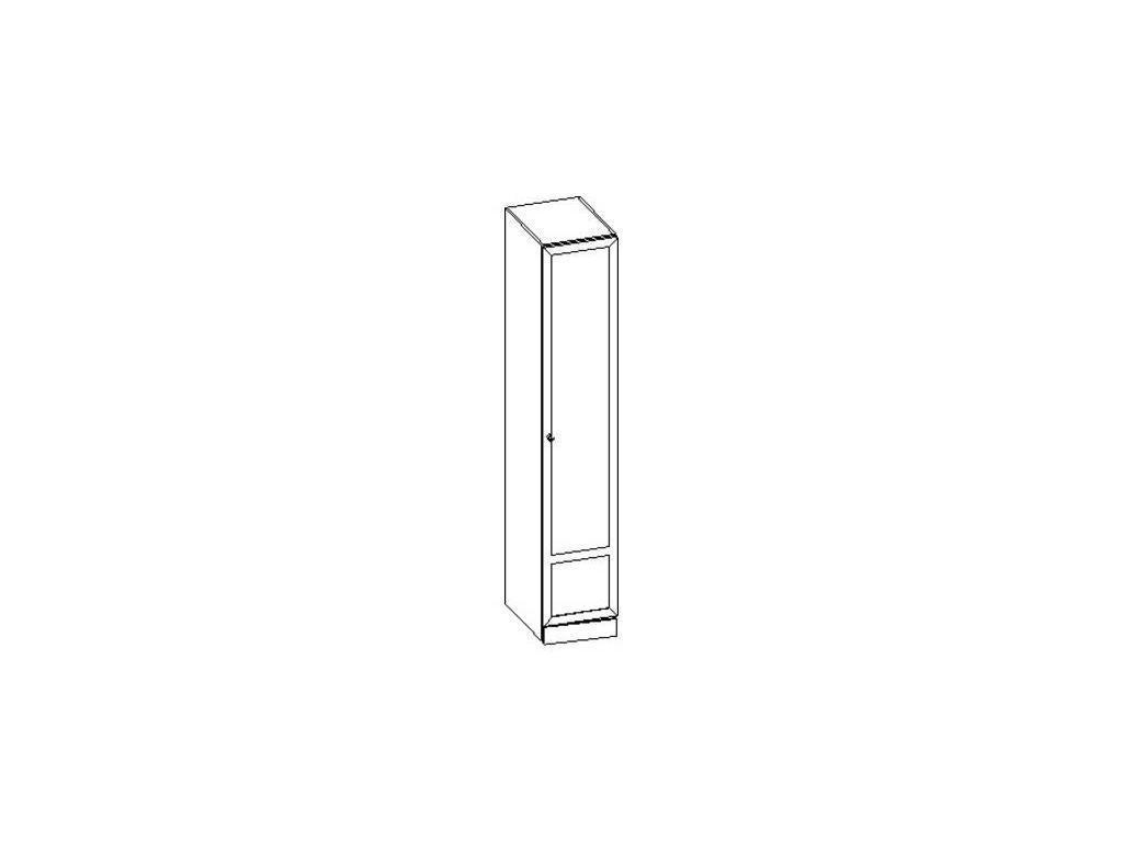 Liberty: Сильвия: шкаф  для белья правый (орех)